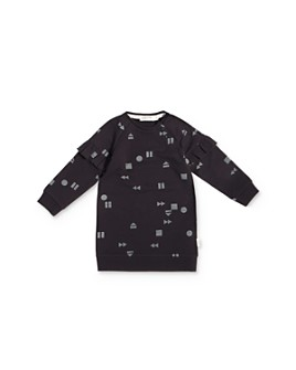 Miles Child - Girls' Geo Print Dress - Little Kid