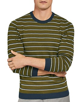 Ted Baker - Jeza Striped Crewneck Sweater
