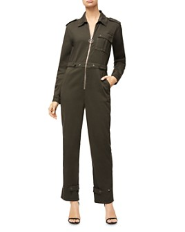 Good American - Zip-Front Flight Jumpsuit