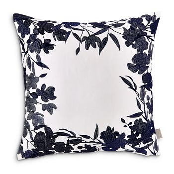 "Ted Baker - Floral Frame Decorative Pillow, 18"" x 18"""