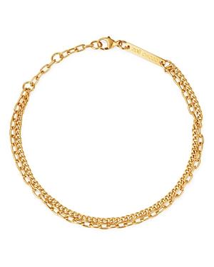 Zoe Chicco 14K Yellow Gold Double-Chain Bracelet