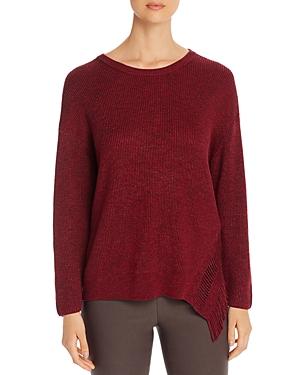 Nic+Zoe Petites Fringe-Trim Sweater
