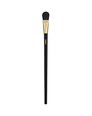 What It Is: A large-sized brush for blending and smoothing eyeshadows. What It Does: This large eyeshadow brush effortlessly buffs and blends pigments all over the eyelid and in the crease and can be used with all powder and cream eyeshadows for flawless application. This makeup brush is cruelty-free, made with high-quality synthetic bristles that do not absorb makeup and are easy to clean. How To Use It: - Dip the eyeshadow brush in a powder or cream eyeshadow - Apply and blend the shadow onto