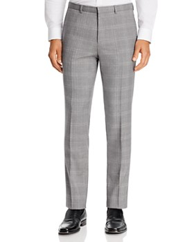 HUGO - Hets Plaid Extra Slim Fit Suit Pants