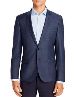 HUGO - Arti Tonal Plaid Extra Slim Fit Suit Jacket