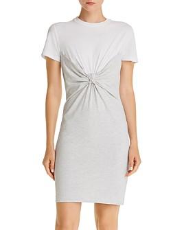 alexanderwang.t - Twist-Front T-Shirt Dress
