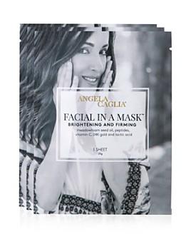 Angela Caglia - Facial in a Mask Sheet Masks, Set of 3
