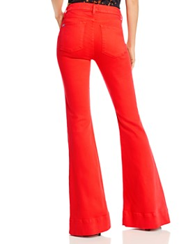 Alice and Olivia - Beautiful Bell Bottom Jeans in Cherry