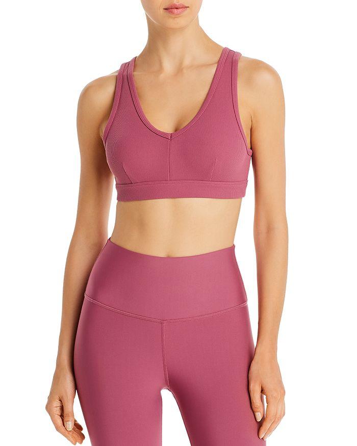 Alo Yoga - Togetherness Rib-Knit Sports Bra