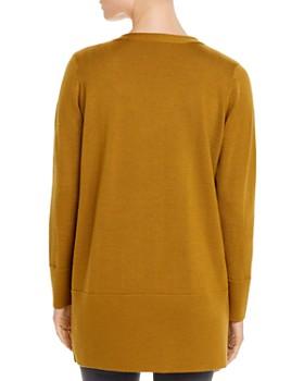 Eileen Fisher - Merino Wool V-Neck Cardigan Sweater - 100% Exclusive
