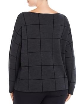 Eileen Fisher Plus - Wool-Blend Boxy Sweater