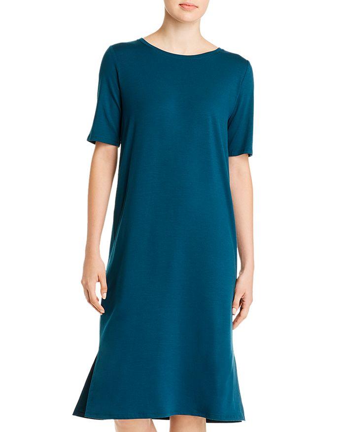 Eileen Fisher - Short-Sleeve T-Shirt Dress - 100% Exclusive