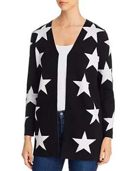 Sioni - Star Open Cardigan Sweater