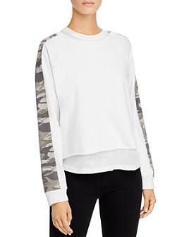 Monrow - Two-Piece Sweatshirt