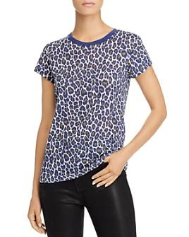Goldie - Leopard Print Tee