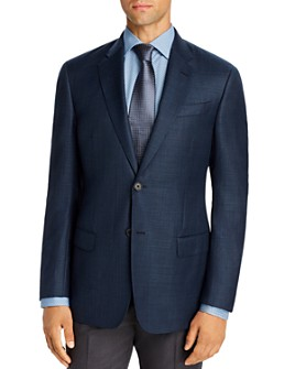 Armani - Plain-Weave Virgin Wool Regular Fit Blazer