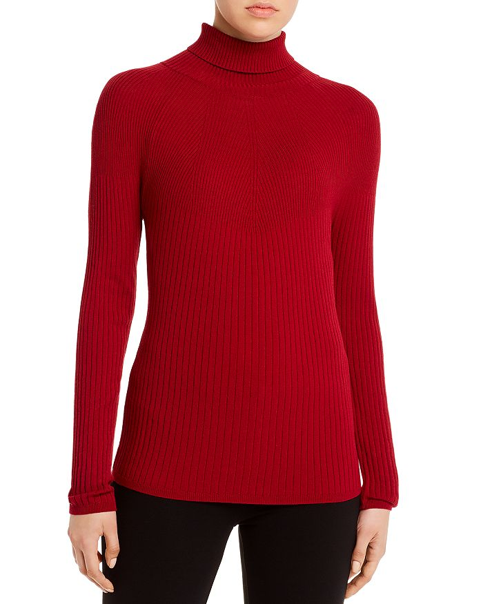 Piazza Sempione - Fitted Ribbed Turtleneck Sweater