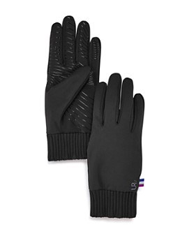 U|R - Ribbed-Cuff Tech Gloves