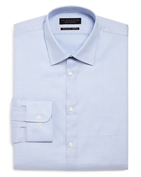 The Men's Store at Bloomingdale's - Micro-Pattern Stretch Regular Fit Dress Shirt
