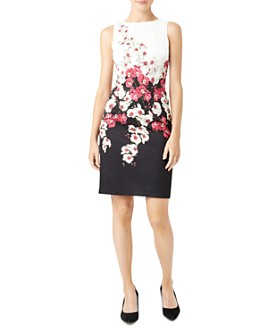 HOBBS LONDON - Moira Floral Sheath Dress