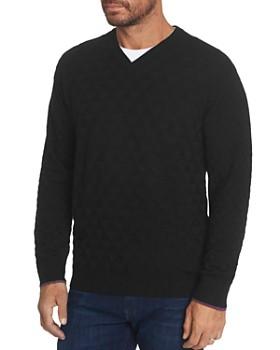 Robert Graham - Randie Merino Wool V-Neck Sweater