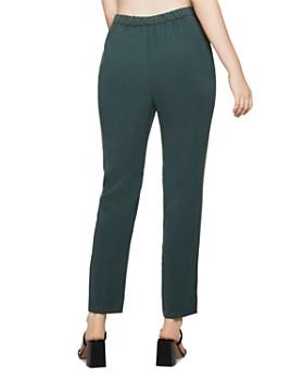 BCBGENERATION - Button Detail Straight-Leg Pants