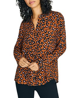 Sanctuary - Leopard-Print Shirt