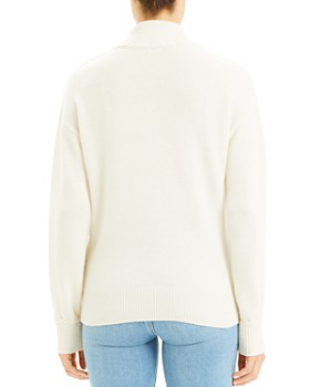 Theory - Cashmere Whipstitched Turtleneck Sweater