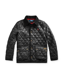 Ralph Lauren - Boys' Diamond Quilted Coat - Big Kid