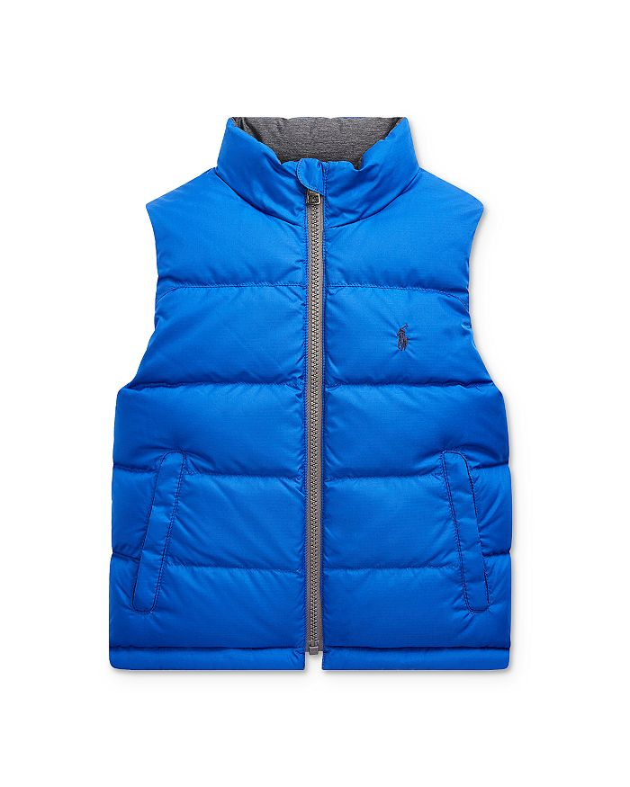 Ralph Lauren - Boys' Reversible Down Vest, Big Kid - 100% Exclusive