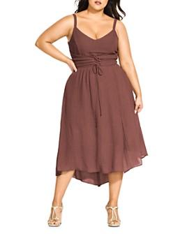 City Chic Plus - Boho Dream Dress