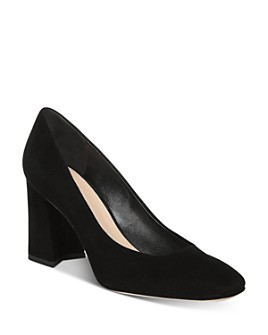 Via Spiga - Women's Beatrice Block Heel Pumps