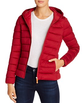 Save The Duck - Hooded Packable Short Puffer Coat
