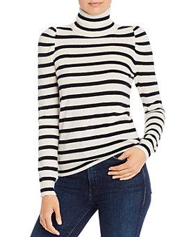 Madeleine Thompson - Pinocchio Striped Cashmere Turtleneck Sweater