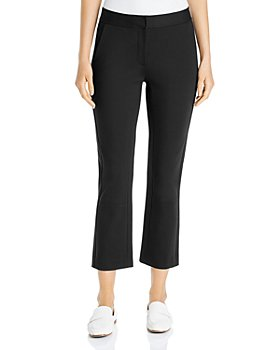 Tory Burch - Ponte Kick-Flare Button-Accent Pants
