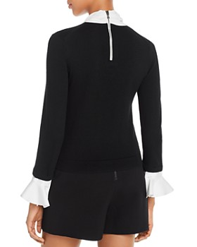 Alice and Olivia - Justina Tie-Neck Sweater