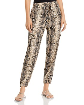 Re:Named - Cecilia Python Print Jogger Pants