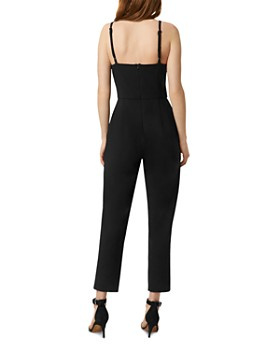 FRENCH CONNECTION - High-Neck Tapered-Leg Whisper Jumpsuit