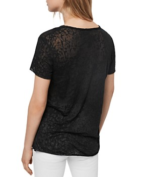 ALLSAINTS - Emelyn Leo Burnout Tee