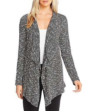 Vince Camuto Draped Boucle Cardigan-Women