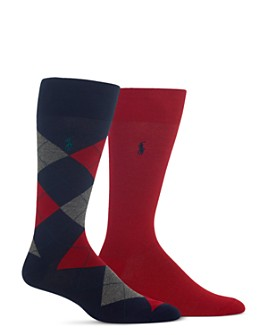 Polo Ralph Lauren - Dress Socks - Pack of 2