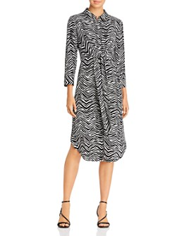 VINCE CAMUTO - Tie-Waist Shirt Dress - 100% Exclusive