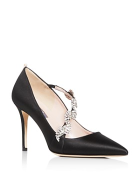 SJP by Sarah Jessica Parker - Women's Noelle Embellished Pointed-Toe Pumps