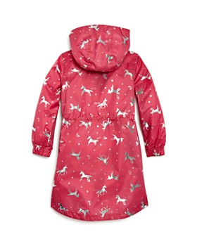 Joules - Girls' Unicorn Print Raincoat - Little Kid, Big Kid
