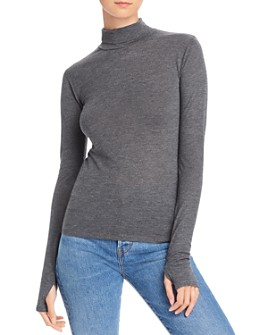AQUA - Turtleneck Top - 100% Exclusive
