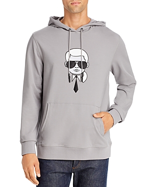 Karl Lagerfeld Paris Karl Large Logo Hoodie-Men