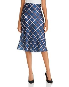 AQUA - Plaid Slip Skirt - 100% Exclusive