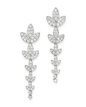 Bloomingdale's Diamond Petal Drop Earrings in 14K White Gold, 2.15 ct. t.w. - 100% Exclusive
