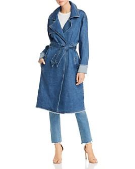 GUESS - Denim Trench Coat