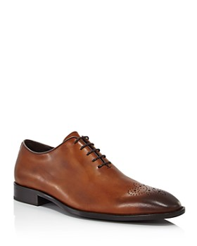 Dylan Gray - Men's Carlucci Wholecute Lace-Up Oxfords - 100% Exclusive
